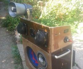 Mobile 12V Sound System
