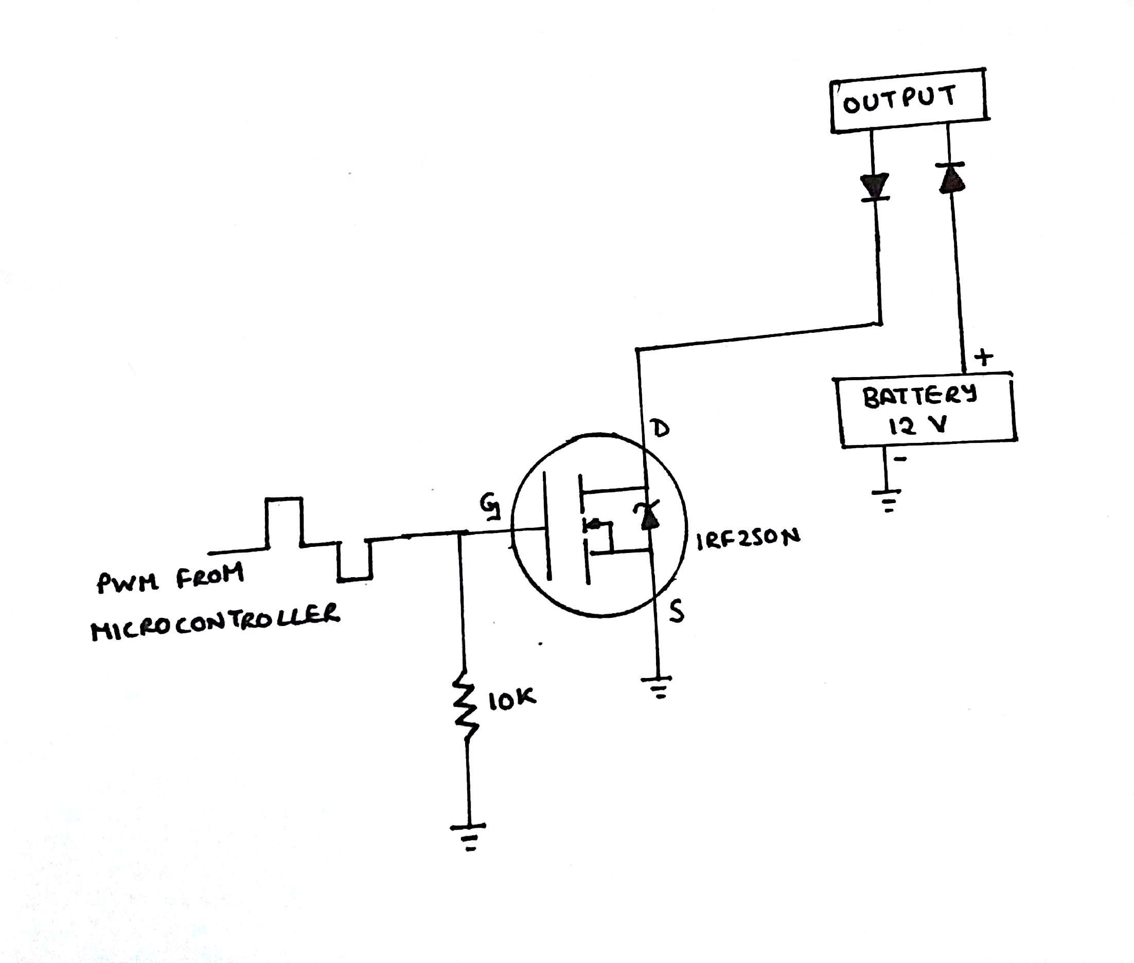 Picture of PWM INTERPRETER CIRCUIT