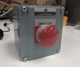 Wireless Emergency Stop Button for PLC Safety
