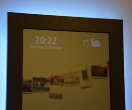 Smart Mirror by Raspberry Pi