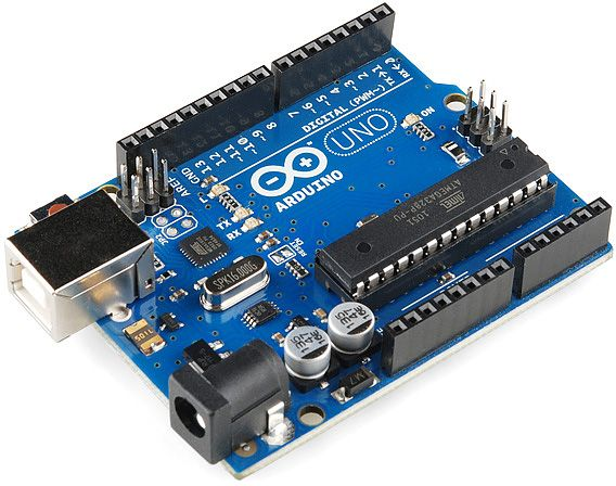Picture of Hardware Components: