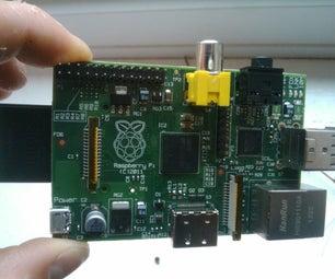 PICAXE Raspberry Pi ADC