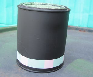 Make a Chalk Board Paint Can