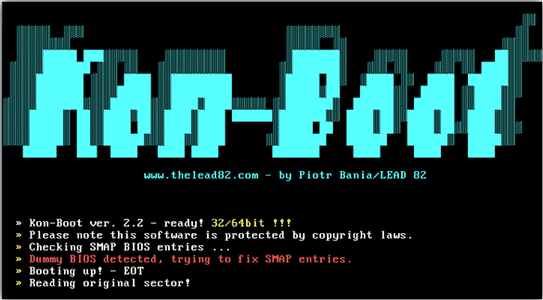 Installing and Using Kon-Boot [Detailed UserGuide]