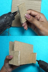 Let's Cover the Cardboard With Jute!