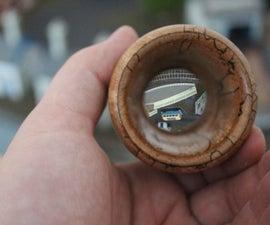 Wooden Lens Holder / Toddeler Loupe