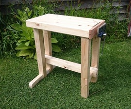 Kids Foldaway Workbench