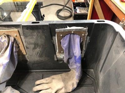 Gloves and Wood Bulkheads
