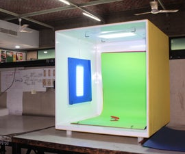 Photo Box: a Portable Product Photography Booth With RGB Lighting