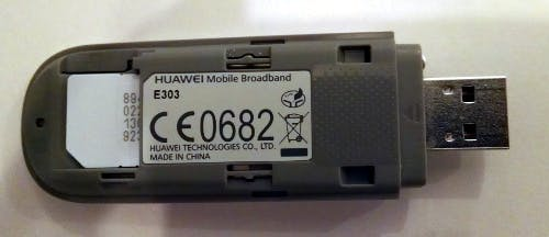 Picture of Connect Raspberry Pi to Cellular With Huawei E303 Modem