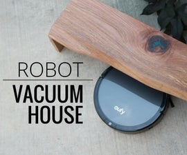 Robot Vacuum House