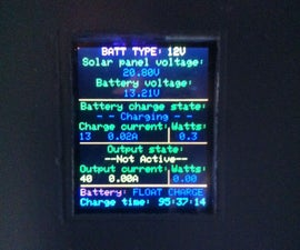 Arduino Solar Charge Controller + Output Control and Data Logging Online With Xbee WiFi