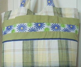 Easy Grocery Bag Shopping Tote From 2 Pillowcases
