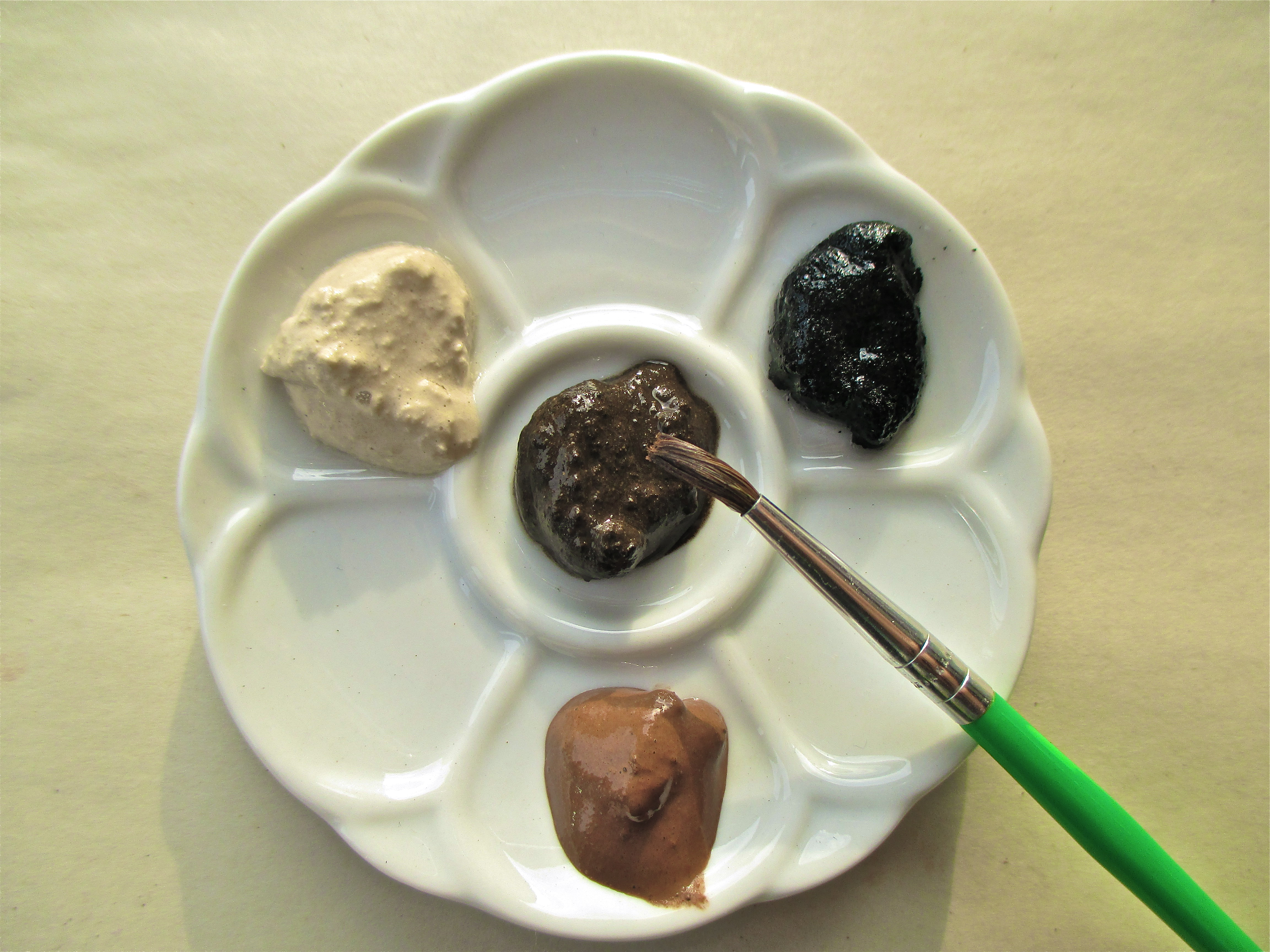 Picture of Natural Earth Tone Paints