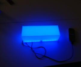 Arduino-based Gyroscope-controlled Glass Desk Light