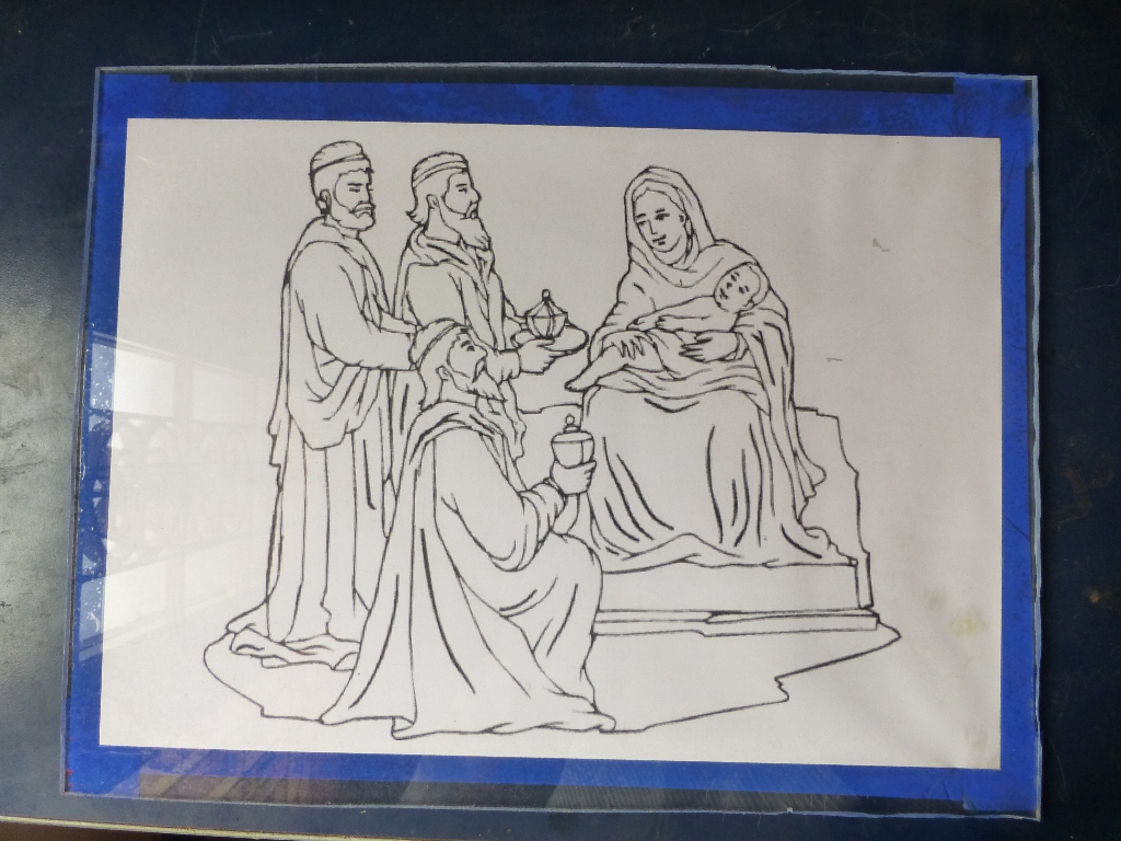 Picture of Transfer Image to Acrylic Sheet