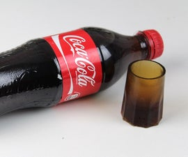 DIY MINI SHOT GLASSES OF COCA COLA