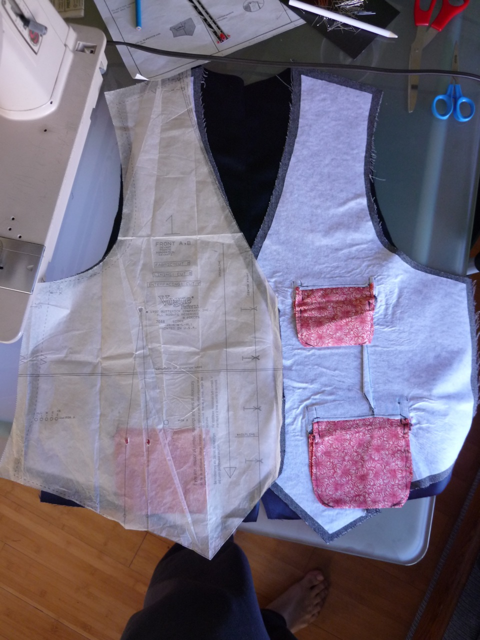 Picture of Sew Together the Outside Panels