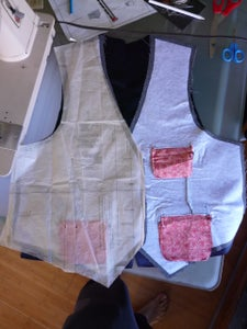 Sew Together the Outside Panels