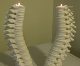 How to assemble a 3D Printed Harry Potter style Spine Candle set (with minimal effort)