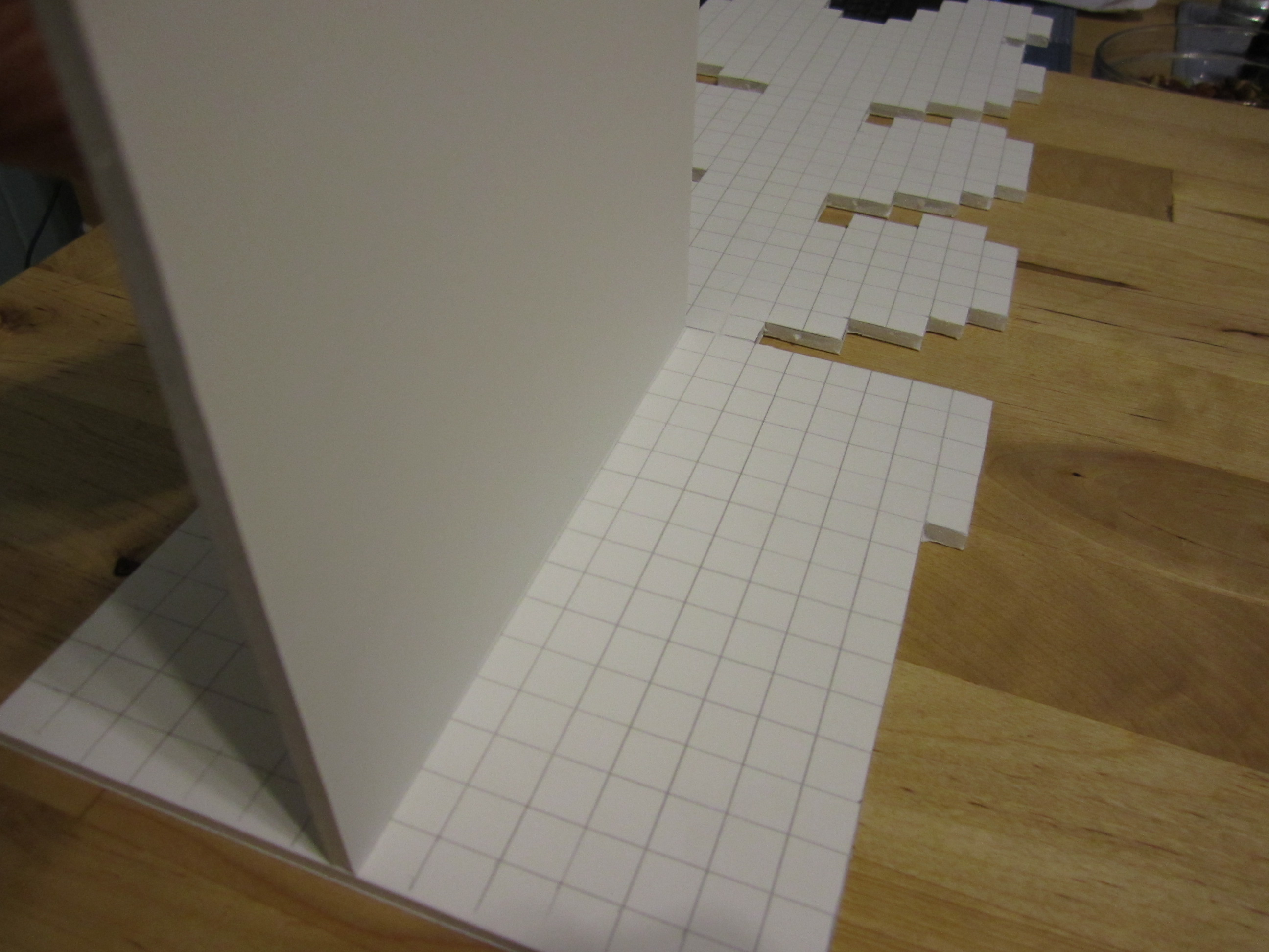 Picture of Cutting Out the Forms