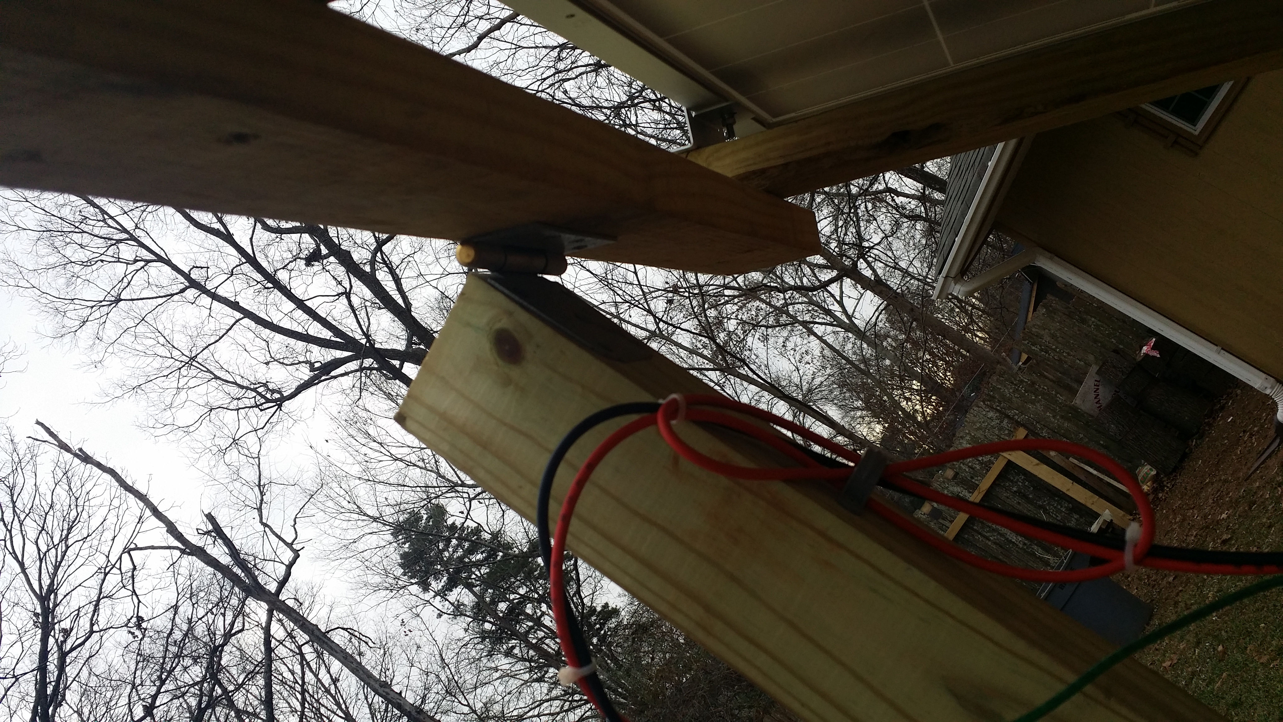 Picture of Attaching Panel and Calculating Tilt
