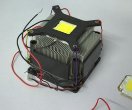 LED with Cooler Heat Sink
