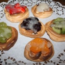 Meringue Fruit Tartlets