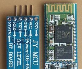 How to repair HC-06 or HC-05 Bluetooth module