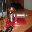 Home Made Soldering Iron Fixture