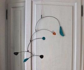 Calder-style Modern Art Mobile