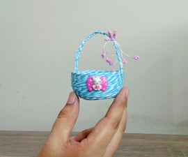 How to Make Small Baskets