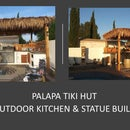 Palapa Tiki Hut W/Outdoor Kitchen - on a Budget