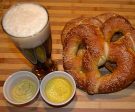 Authentic Bavarian Pretzels