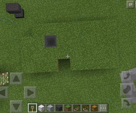Passcode Locked Trap Door in Minecraft