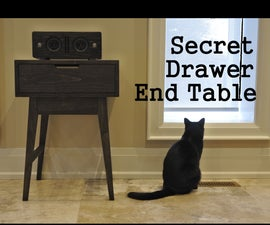 Secret Drawer End Table