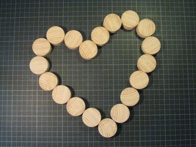 Shape Shifting Wood Trivet