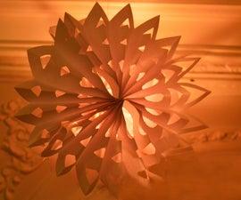 Light-Up 3D Paper Snowflake