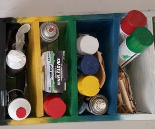 Spray Paint Holder