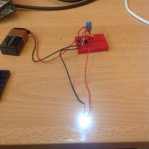Flashing LED Circuit