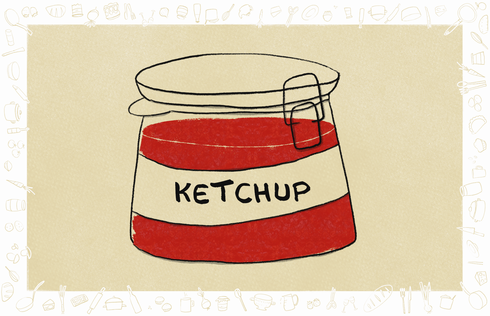 Picture of Homemade Ketchup - Vegan and Gluten Free