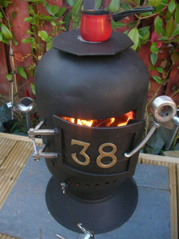 Picture of Wood Stove Made From Scrap