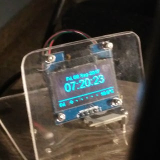 Miniature Weather Station - ESP8266