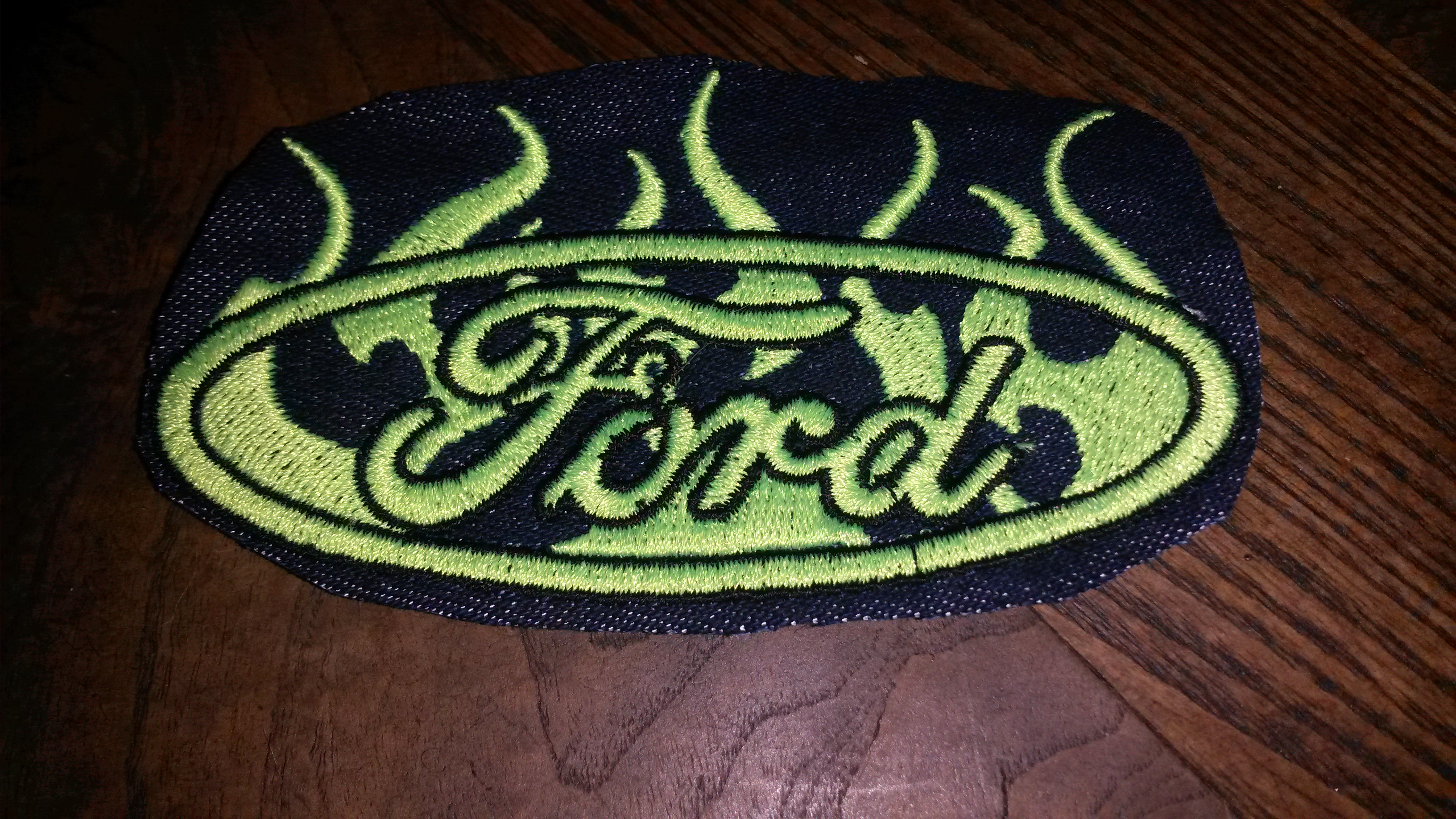 Picture of Embordering Jean Patches