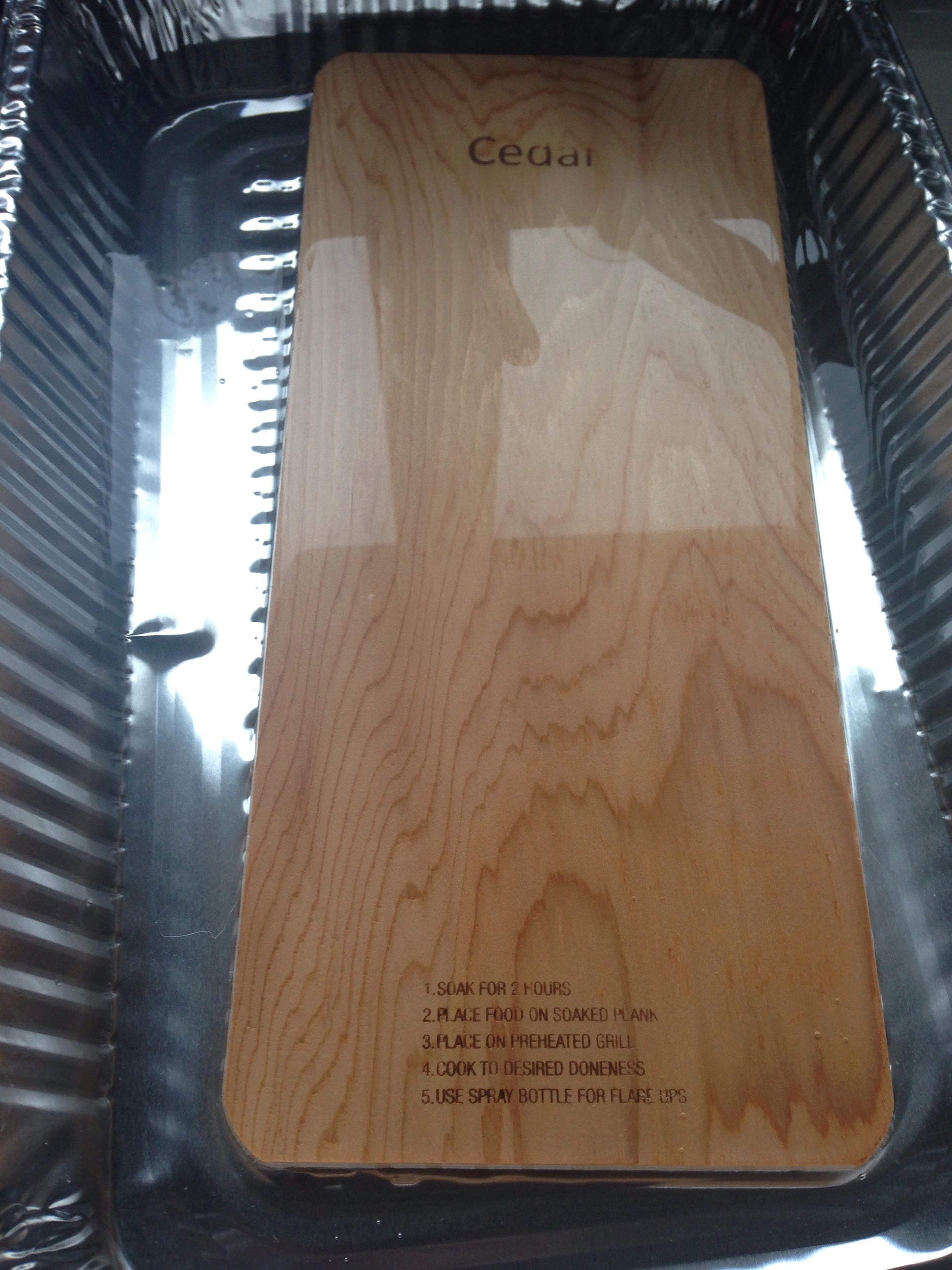 Picture of Cedar Plank Preparation