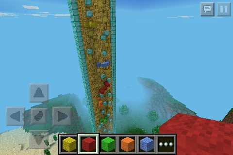 Picture of How to Make a Wall Climbing Zone in Minecraft!