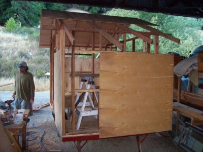 Siding With 1/8 Inch Plywood