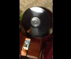 Airplay receiver with a turntable look