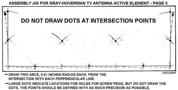 Draw Two 5.41-Inch (137 Mm) Arcs