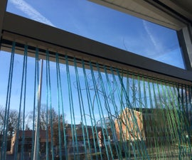 Strung Window Display